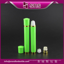 SRS free sample 10ml plastic vibrating roll on bottle