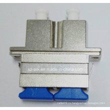 Ѕс-LC Двухшпиндельный гибридный волоконно-оптический адаптер