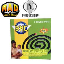 BNC Nueva marca de África popular más vendidos Negro Mosquito bobina