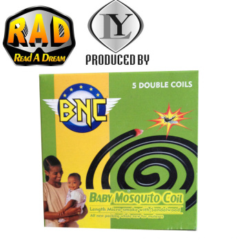 BNC New Brand Africa Popular Top Selling Black Mosquito Coil