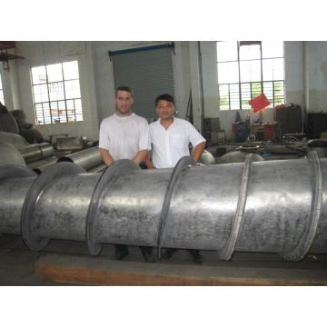 Screw extrusion dewatering machine