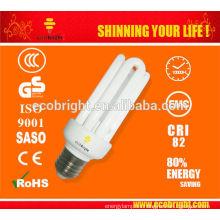¡Nuevo! T3 4U CFL bombilla 15W 10000H CE calidad