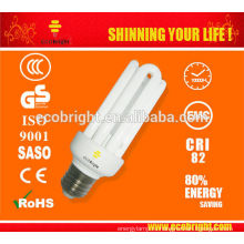 Новые функции! T3 4U CFL лампа 15W 10000H CE качество