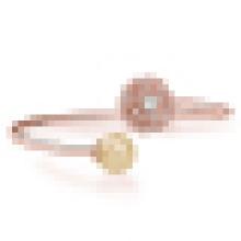Women′s 925 Sterling Silver Freshwater Pearl Bracelet