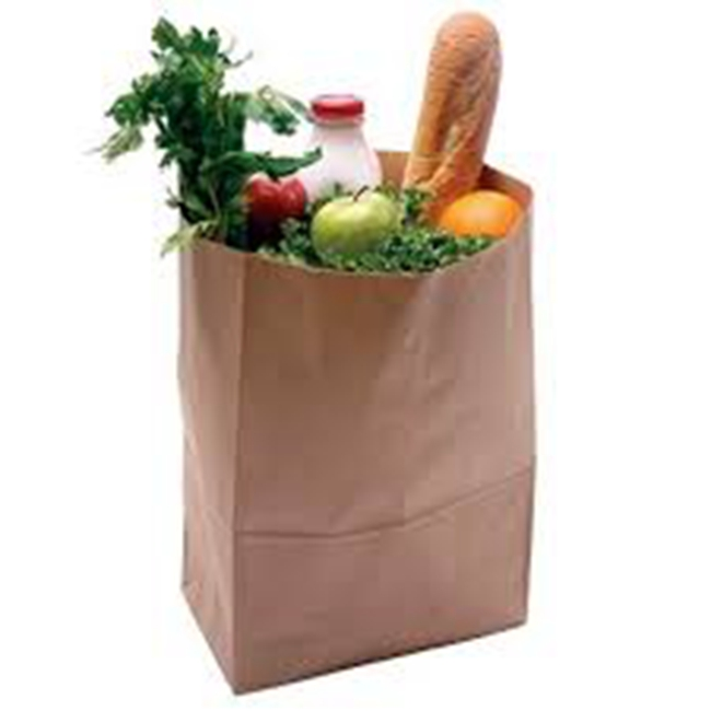 kraft take away bags
