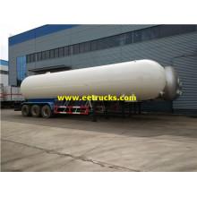 56000L Triaxel Propane Trailer Tankar