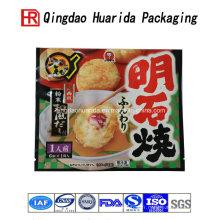 Personnaliser l'emballage en plastique transparent de sacs de nourriture