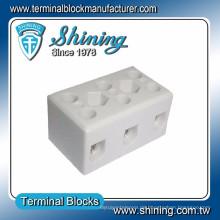 TC-503-A Thermoelement 600V 50A 3 Pin Porzellan Kabelstecker