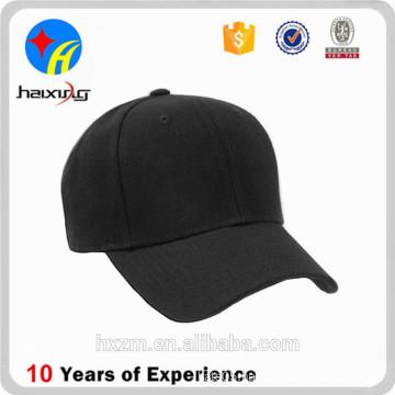 high quality men stylish black flex fit hat