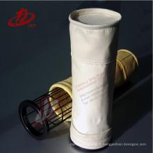 Fournisseurs industriels de sacs de filtre de collecteur de poussière / sac filtrant de poussière