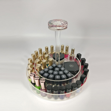 Clear Acryl nagellak en make-up organizer
