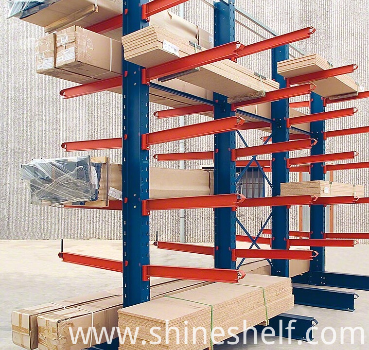 Cantilever Racking for Wooden Boards Storage