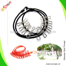 6mm convenient clothing line, retractable clothes line,outdoor clothes line
