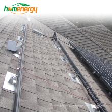 Sistema solar de montagem de painéis solares Sistema de montagem solar de telhado inclinado