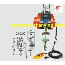 Suspending Mini Electric Hoist (HXS-250F)