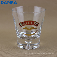 Gobelet de whisky imprimé de 250 ml (fond lourd)