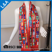 Promotional Football Scarf for Promotin Gift