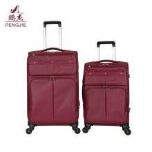 Large capacity expand space soft travel luggage bag