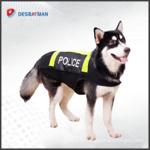 High Quality Fashion Traffic Reflective 100% Polyester Pet Safety Dog Vest