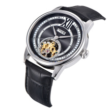 Automatic Mechanical Watch 30m Waterproof Stainless Steel Skeleton Wrist Watches for Men