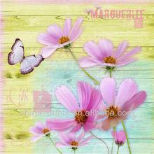 Красивый цветок поп-арт