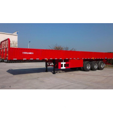 Sinotruk 13.5m Drop Side Cargo and Container Semi-Trailer Truck (QDZ950S)