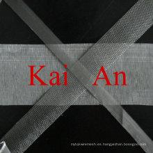 100 mesh 200 mesh 300 mesh Acero inoxidable Microporous Mesh Cloth para Micrófono / Auriculares / auriculares