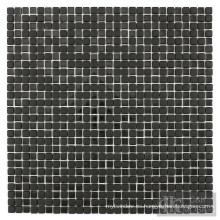 Mosaico de cristal de mezcla negra para decoración de baños