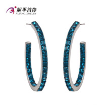 Xuping Fashion Luxury Cystals From Swarovski Elegant Jewelry Earring Hoop -E-117