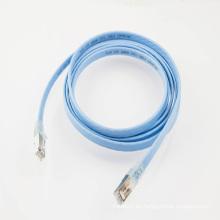 Cable de conexión plano RJ45 32awg SSTP Cat6a