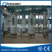Acier inoxydable industriel Vacuum Batch Evaporation Crystallizer Forced Circulating Tomato Pasate Evaporator