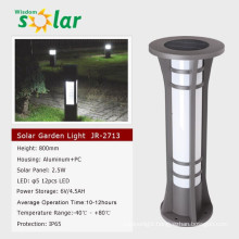 2015 China lighting CE bollard solar led light for outdoor home garden bollard lighting JR-2713
