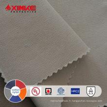 ASTM F1959 ATPV 8.6 arc flash tissu pour le soudage des vêtements de travail