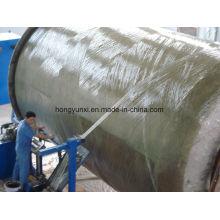 Machine de fabrication de réservoir ou de navire de FRP - type horizontal