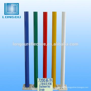 lámina de cinta retrorreflectante de alta visibilidad