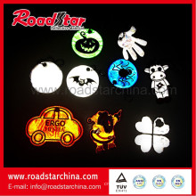 Customer waterproof reflective pendant for clothing