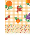 More Colors Wedding Hotel Home Rectangle PVC Printed Tablecloth with Backing (TJ0022)