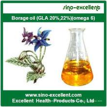 Huile de bourrache (GLA 20%, 22%) (oméga 6)