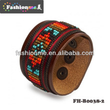 Bracelet en cuir véritable 2014