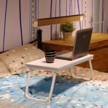 Кровать Лоток Кровать Купить Портативный Стол для Ноутбука Складной Столик для Настольных Настольных Компьютерных Ноутбуков Кровать Лоток Белый