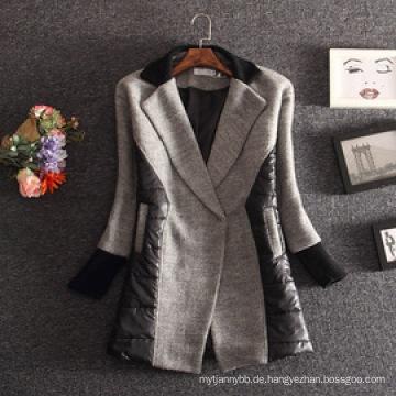 Großhandelsoberbekleidung-Qualitäts-Frauen-Winter-Mantel