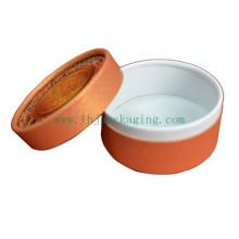 Caja redonda de la vela Caja redonda del embalaje del té