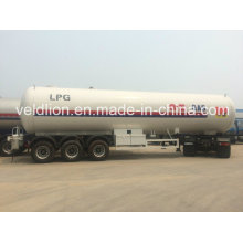 Hochleistungs-58,5m3 Propan Tri-Axle LPG Tank Anhänger