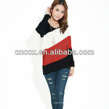 PK17ST252 полосатый свитер для женщин