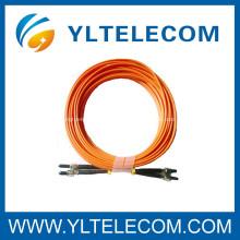 Cordón de remiendo de la fibra óptica de SMA / coletas de puente para las habitaciones de la comunicación