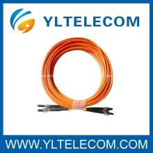 Cabo de remendo da fibra ótica de SMA / tranças da ligação em ponte para salas de comunicação