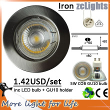 5W LED recesso downlight substituir halogênio Down Lights (DL-GU10 5W)
