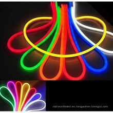 La venta caliente AC110V multicolor RGB llevó la flexión de neón para la decoración al aire libre