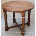 Mango Wooden Round Top Dining Table