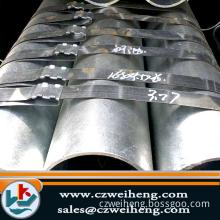Q235/Hot dip galvanized Erw Steel Pipe